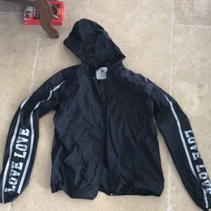 Black Reflex Windbreaker